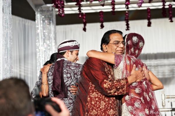 Indian wedding ceremony parents bride groom