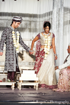 Indian wedding ceremony traditional bride groom mandap