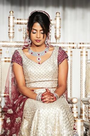 Indian wedding ceremony traditional bride
