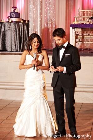 Indian wedding reception speech inspiration bride groom