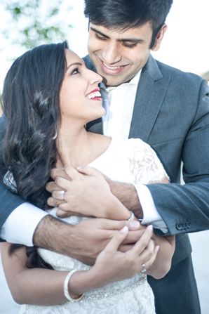 indian wedding bride groom engagement portraits