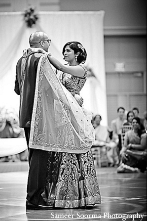 Bride groom elegrant reception outfit in Phoenix, Arizona Indian Wedding by Sameer Soorma Photography