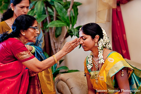 Indian bride ceremony wedding saree in Phoenix, Arizona Indian Wedding by Sameer Soorma Photography