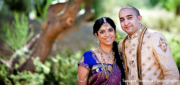 Indian bride groom fashion portrait in Phoenix, Arizona Indian Wedding by Sameer Soorma Photography