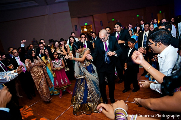 Indian reception bride groom fashion hall in Phoenix, Arizona Indian Wedding by Sameer Soorma Photography