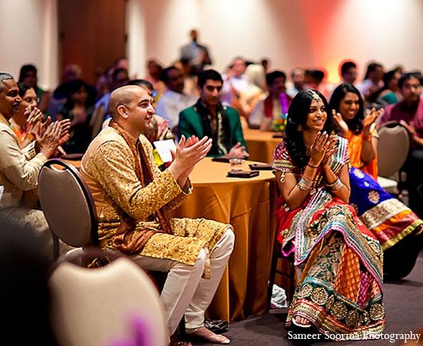 Indian reception bride groom photography in Phoenix, Arizona Indian Wedding by Sameer Soorma Photography