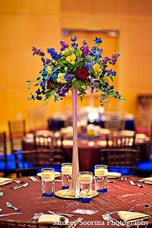 Indian reception decor hall venue in Phoenix, Arizona Indian Wedding by Sameer Soorma Photography