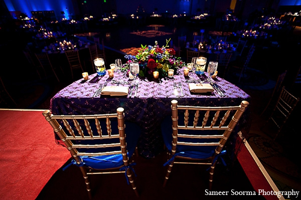Indian reception photography venue design in Phoenix, Arizona Indian Wedding by Sameer Soorma Photography