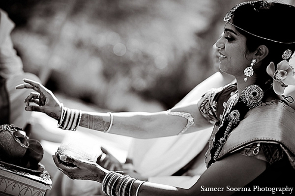 Indian wedding bride custom tradition in Phoenix, Arizona Indian Wedding by Sameer Soorma Photography