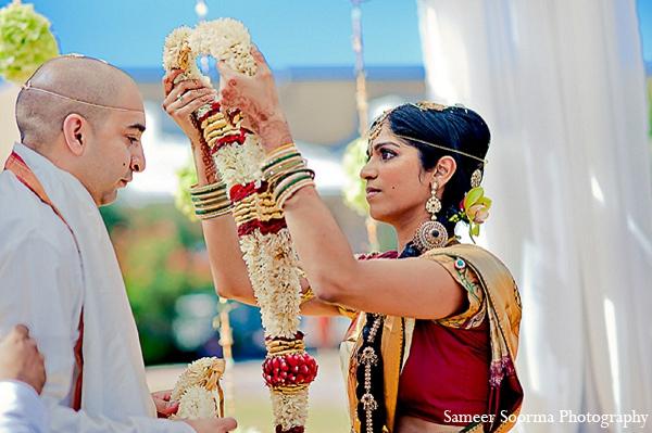 Indian wedding bride groom custom mandap in Phoenix, Arizona Indian Wedding by Sameer Soorma Photography