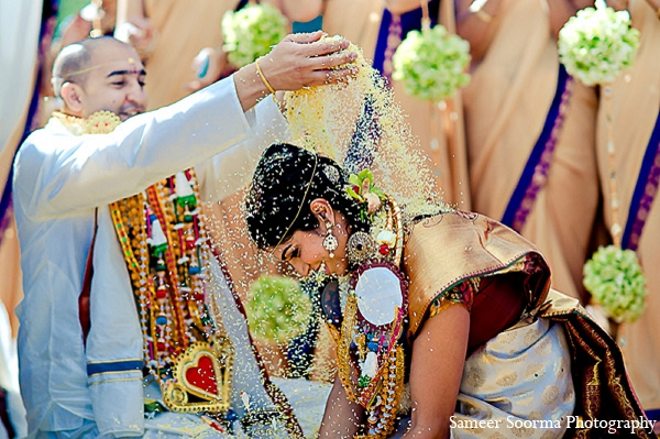 Indian wedding bride groom custom tradition photography in Phoenix, Arizona Indian Wedding by Sameer Soorma Photography