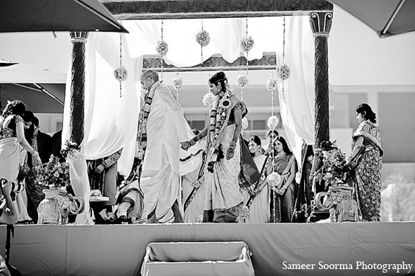Indian wedding bride groom mandap traditional in Phoenix, Arizona Indian Wedding by Sameer Soorma Photography