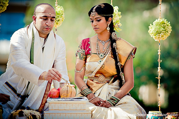Indian wedding bride groom photography in Phoenix, Arizona Indian Wedding by Sameer Soorma Photography