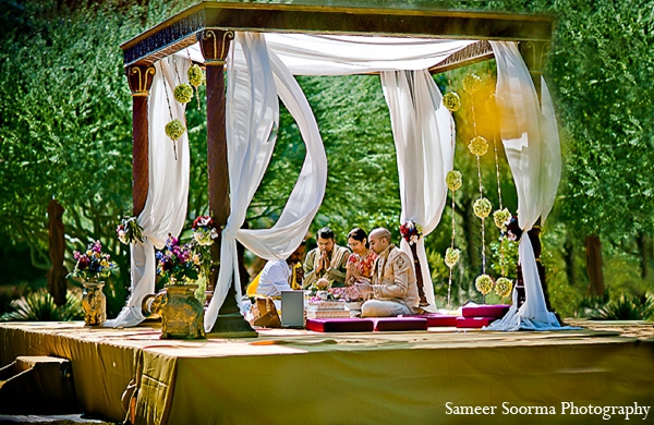 Indian wedding mandap groom photography in Phoenix, Arizona Indian Wedding by Sameer Soorma Photography