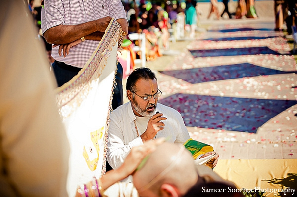 Indian wedding mandap photography venue in Phoenix, Arizona Indian Wedding by Sameer Soorma Photography