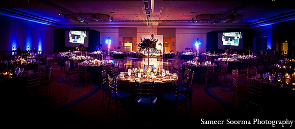 Photography venue reception elegant in Phoenix, Arizona Indian Wedding by Sameer Soorma Photography