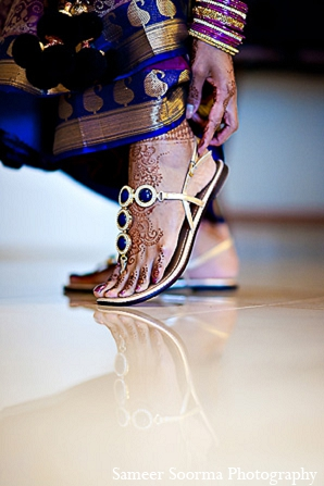 South indian bride fashion photography in Phoenix, Arizona Indian Wedding by Sameer Soorma Photography