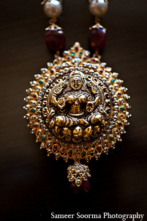 South indian wedding jewelry traditional in Phoenix, Arizona Indian Wedding by Sameer Soorma Photography