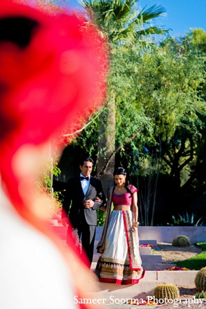 Indian wedding bride groom ceremony photography idea in Phoenix, Arizona Indian Wedding by Sameer Soorma Photography