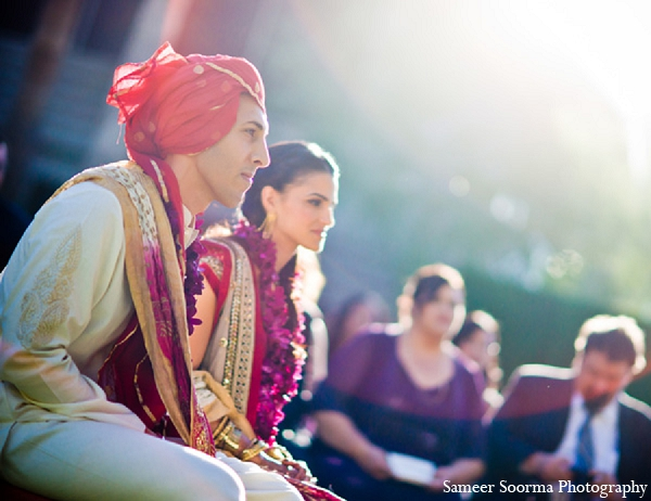 Indian wedding ceremony bride groom in Phoenix, Arizona Indian Wedding by Sameer Soorma Photography