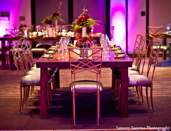 Indian wedding decor simple reception in Phoenix, Arizona Indian Wedding by Sameer Soorma Photography