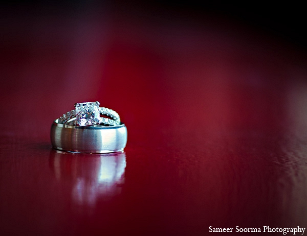 Indian wedding rings photography in Phoenix, Arizona Indian Wedding by Sameer Soorma Photography