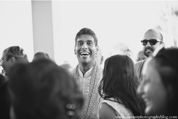 Indian-wedding-baraat-groom-black-white