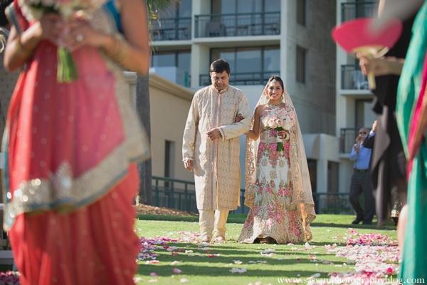 Indian-wedding-ceremony-bride-floral-decor