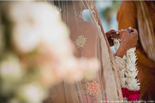 Indian-wedding-ceremony-detail-floral-bride