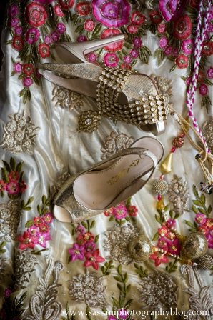Indian-wedding-getting-ready-shoes-bride