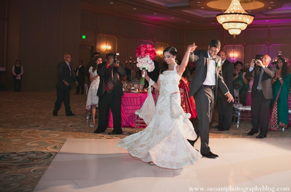 Indian-wedding-reception-bride-groom-dancefloor