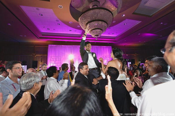 Indian-wedding-reception-dancing-groom