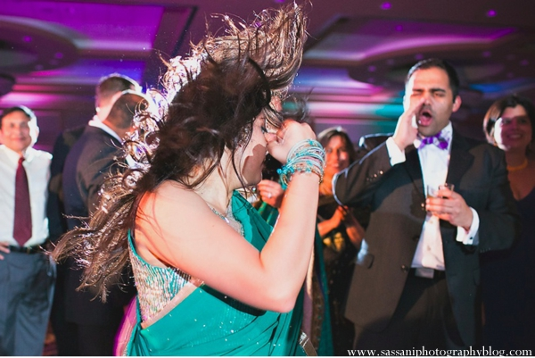 Indian-wedding-reception-dancing-guests