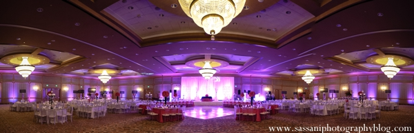 Indian-wedding-reception-decor-lighting