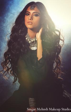 Indian wedding hair and makeup ideas