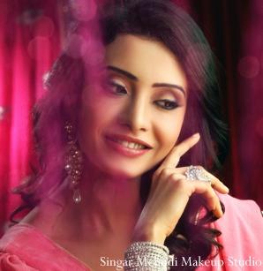 Indian wedding makeup inspiration shoot