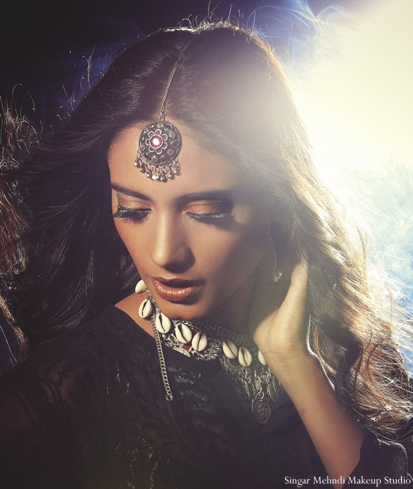 Indian wedding shoot for inspiration hair makeup ideas