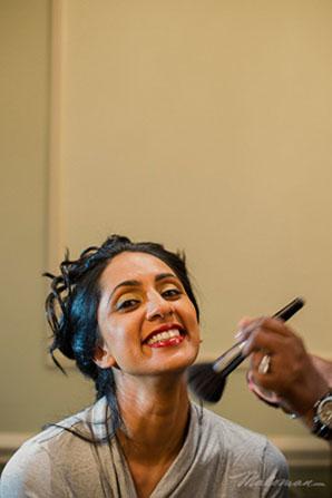 Indianbrideweddingmakeupgettingready