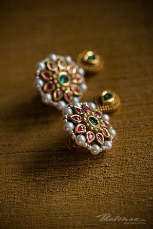 Indianweddingbridejeweleryearings
