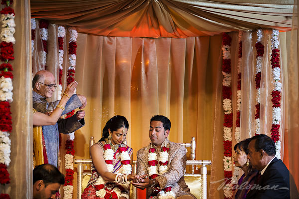 Tradional-indian-wedding-ceremony-bride-and-groom