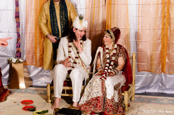 Indian wedding bride groom traditional ceremony in Memphis, TN Indian Wedding by Starlife Studios