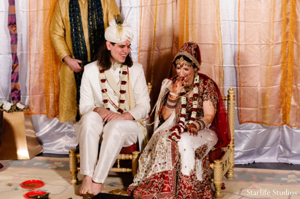 Indian wedding bride groom traditional lengha in Memphis, TN Indian Wedding by Starlife Studios