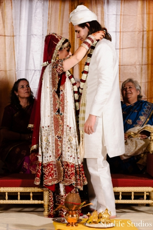 Indian wedding ceremony bride groom lengha sherwani in Memphis, TN Indian Wedding by Starlife Studios