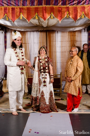 Indian wedding ceremony lengha traditional groom sherwani in Memphis, TN Indian Wedding by Starlife Studios