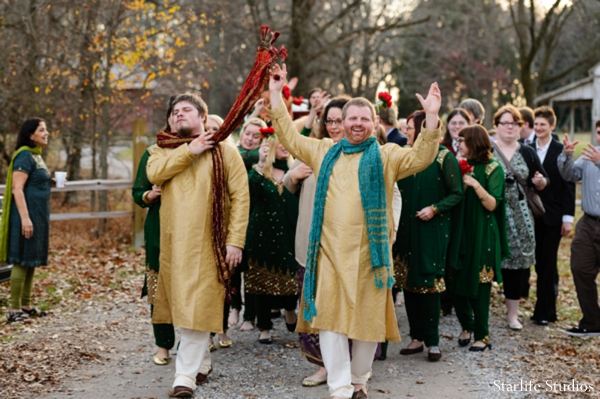 Indian wedding groom baraat traditional celebration in Memphis, TN Indian Wedding by Starlife Studios