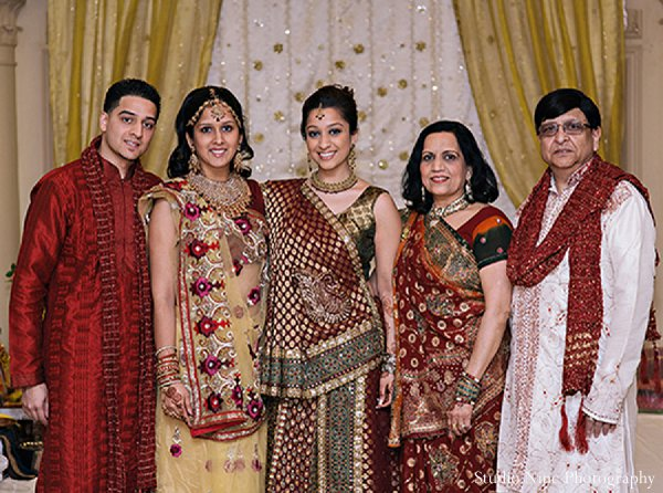 Indian wedding sangeet portraits in Parsippany, NJ Indian Wedding by Studio Nine Photography + Cinema