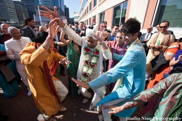 Indian-wedding-baraat-dancing-celebrating