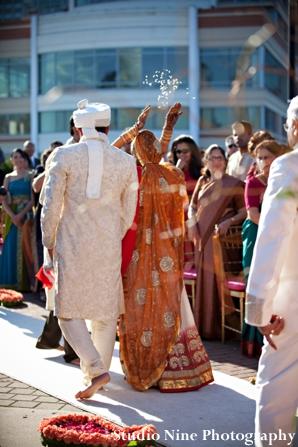 Indian-wedding-ceremony-bride-aisle