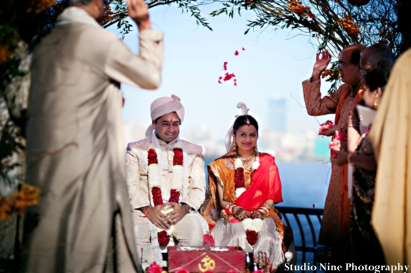 Indian-wedding-ceremony-bride-groom-outdoors