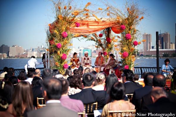 Indian-wedding-ceremony-mandap-outdoors